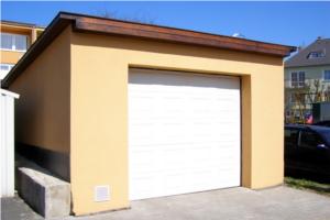 garážová vrata_rekonstrukce garáže